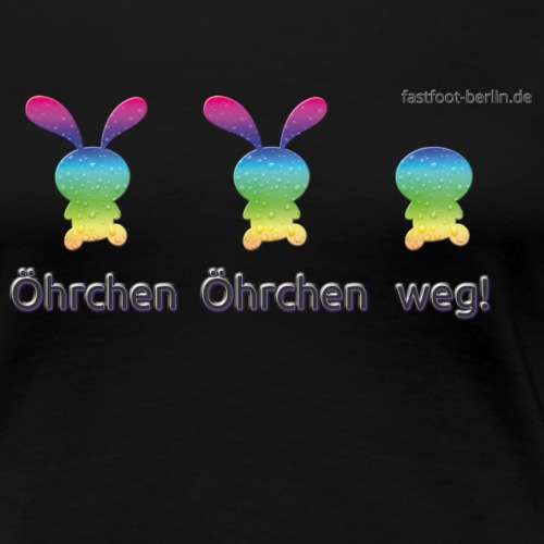Öhrchen - Frauen Premium T-Shirt