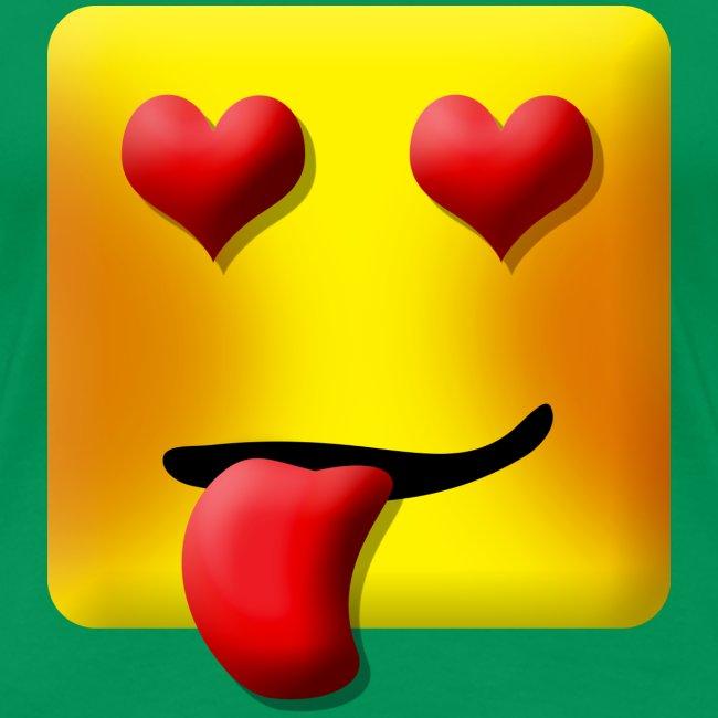 Love Face Square Tongue