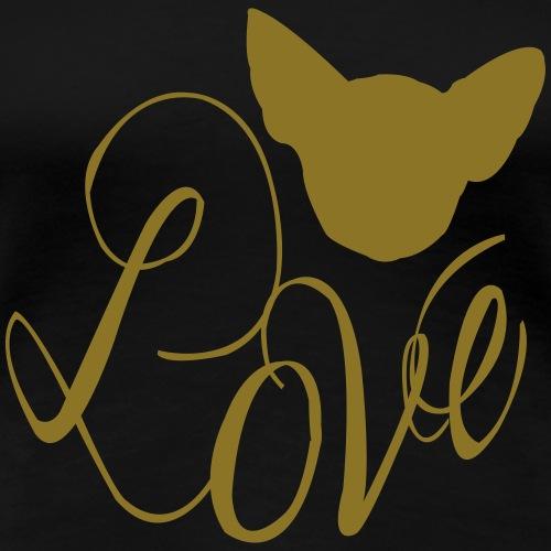 Chihuahua Love 2 - Frauen Premium T-Shirt