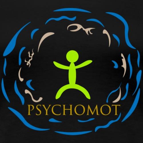 Green Psychomot Blue - T-shirt Premium Femme