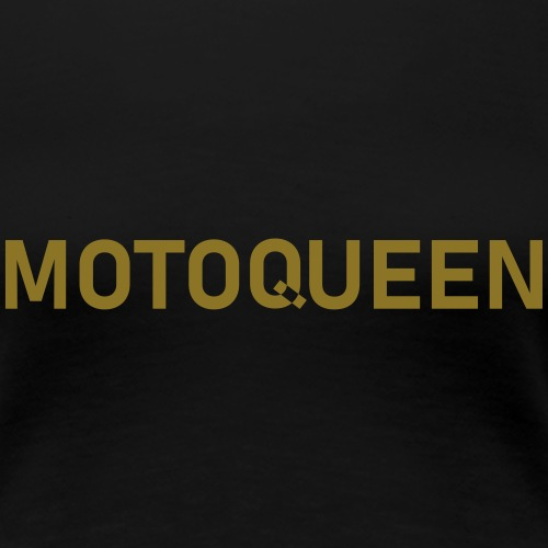 moto queen - Women's Premium T-Shirt