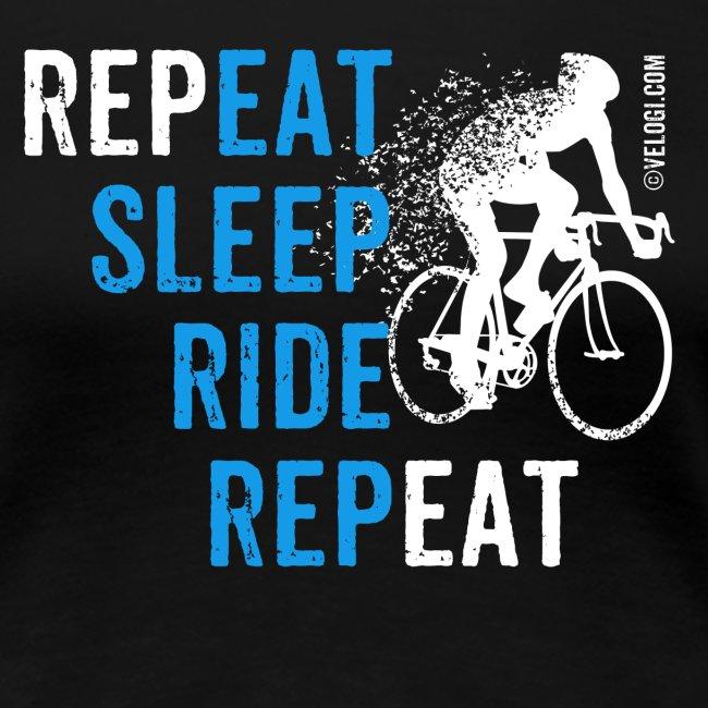 Eat Sleep Ride Repeat Road bike w