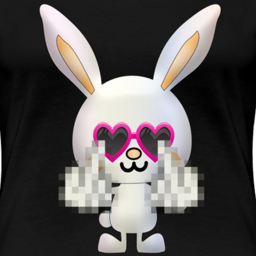 Lapin F*** - T-shirt Premium Femme