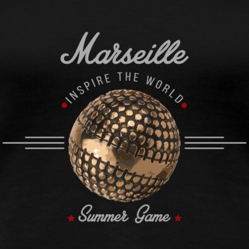 Marseille inspire the world - T-shirt Premium Femme