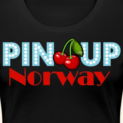 Pinup Norway - Premium T-skjorte for kvinner