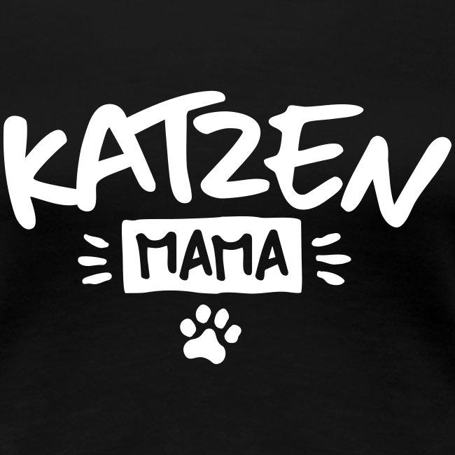 Vorschau: Katzen Mama - Frauen Premium T-Shirt