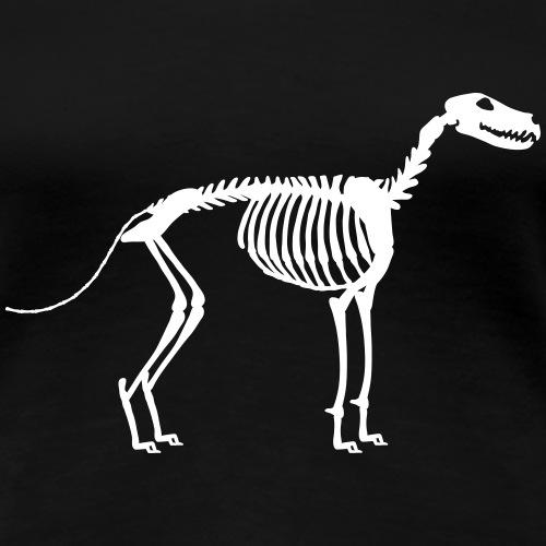 Paikka Luuranko Stay Skeleton - Women's Premium T-Shirt