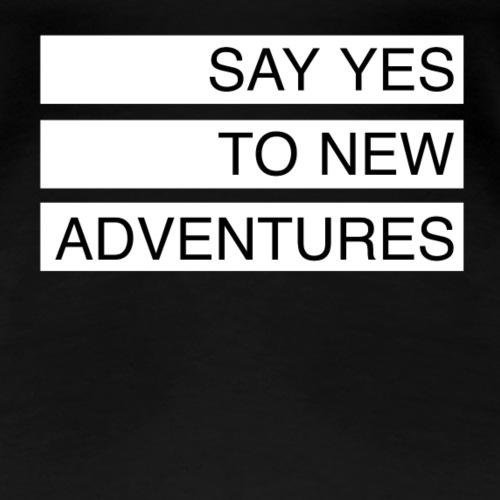 Adventures - Frauen Premium T-Shirt