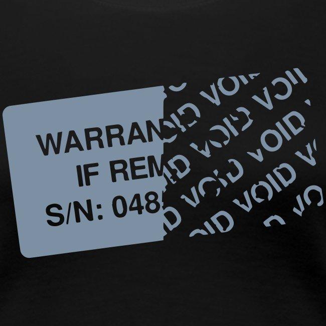 Warranty Void