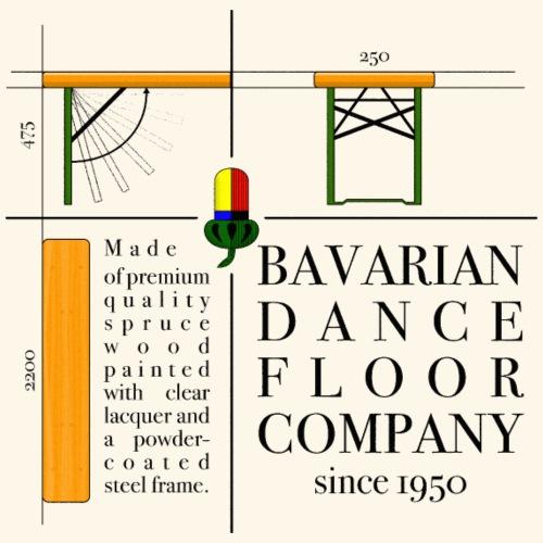 bavarian dance floor - Frauen Premium T-Shirt