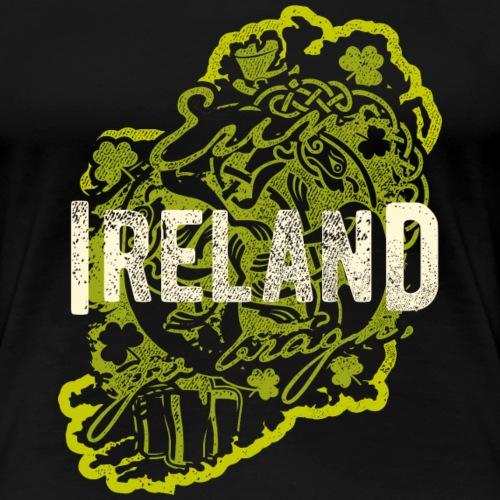 Ireland T Shirt Design - Frauen Premium T-Shirt