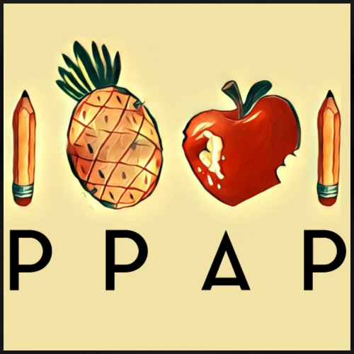 Pen Pineapple Apple Pen - Frauen Premium T-Shirt