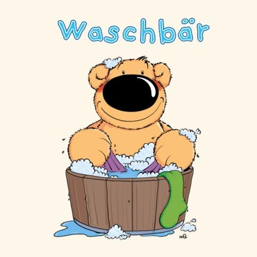 chris bears Waschbär - Frauen Premium T-Shirt
