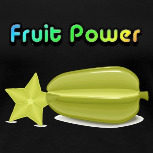 Fruit Power Sternen Frucht - Frauen Premium T-Shirt