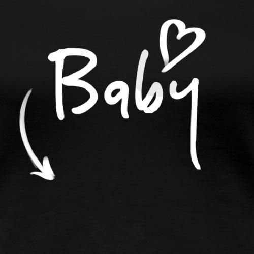 Babybauch - Frauen Premium T-Shirt