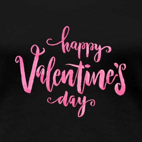 Happy valentine´s day - Camiseta premium mujer