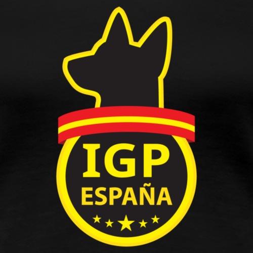 IGP España - Camiseta premium mujer