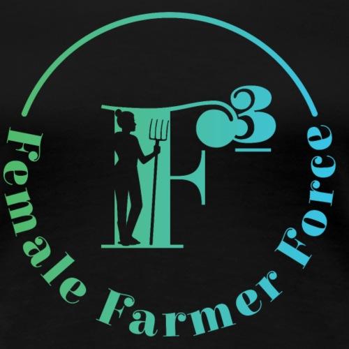 Female Farmer Force - Frauen Premium T-Shirt