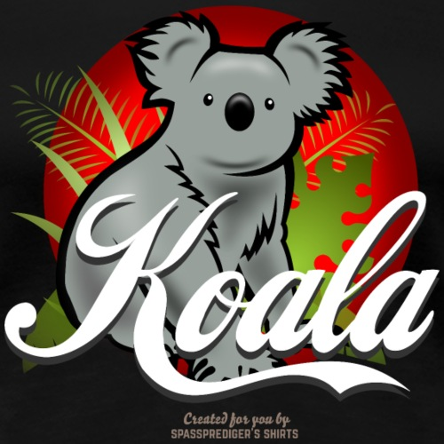 Koala T Shirt Design - Frauen Premium T-Shirt