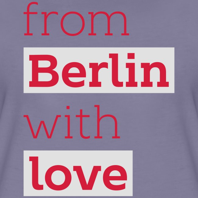 From Berlin with Love