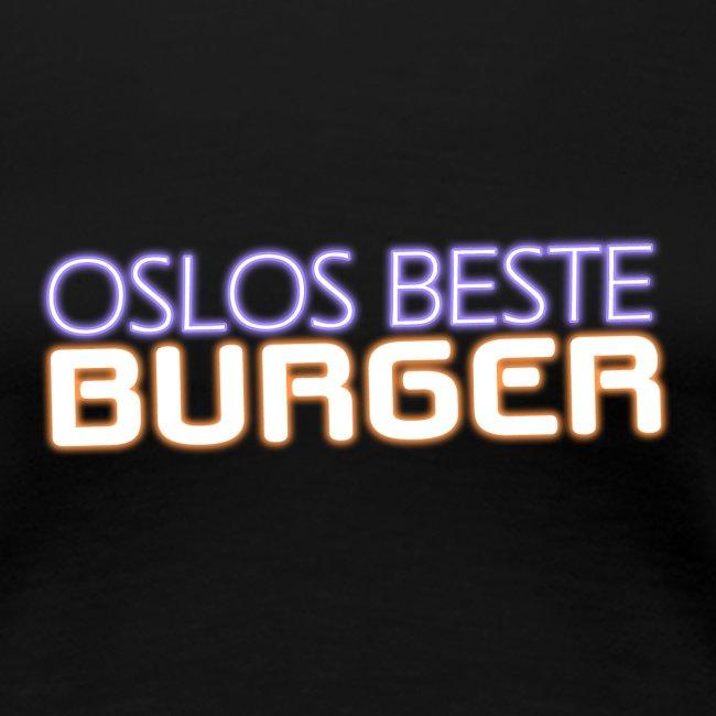Oslos Beste Burger Logo Merch