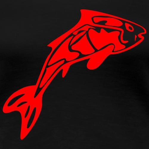 koi_02 - Frauen Premium T-Shirt