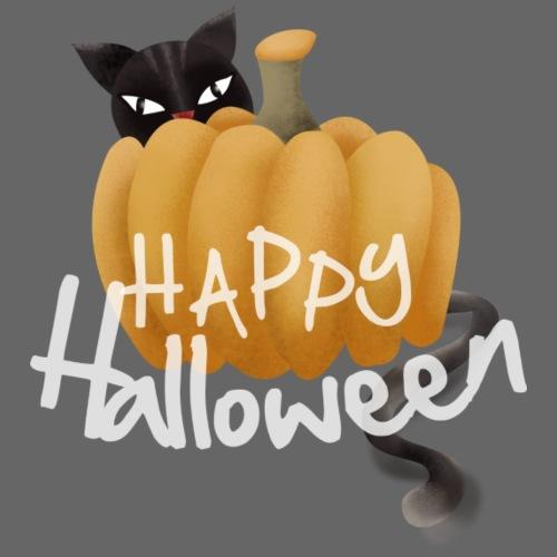 The Halloween Pumpkin-Cat - Frauen Premium T-Shirt