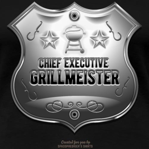 Grill T-Shirt Design Chief Executive Grillmeister - Frauen Premium T-Shirt