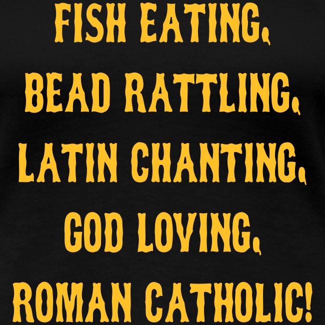 FISH EATING BEAD RATTLING