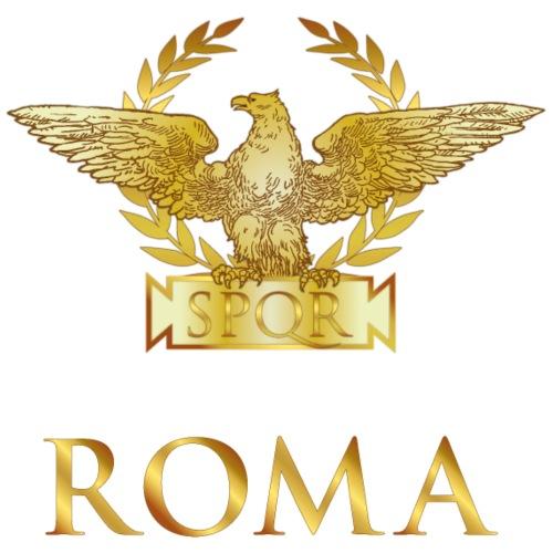 Aquila di ROMA, dorato - Maglietta Premium da donna