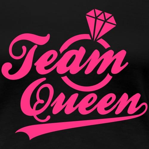 Diamant Team Queen - Frauen Premium T-Shirt