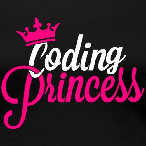 Coding Princess - Frauen Premium T-Shirt