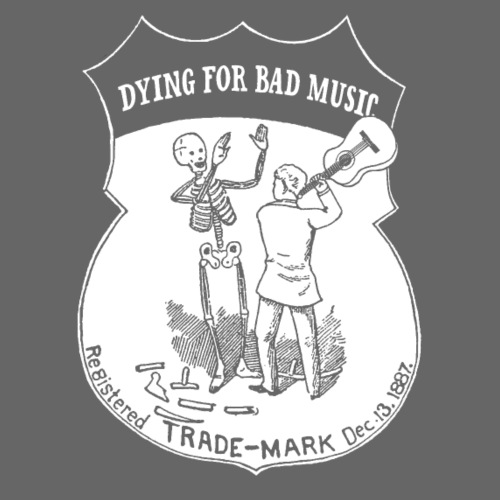 Dying For Bad Music White - Women's Premium T-Shirt