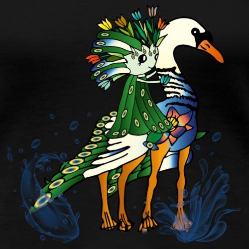 Energiewesen Tesalor - Frauen Premium T-Shirt