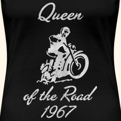 Queen of the Road 1967 distressed - Frauen Premium T-Shirt