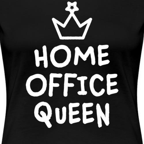 Home Office Geschenk Mitarbeiterin Kollegin - Frauen Premium T-Shirt