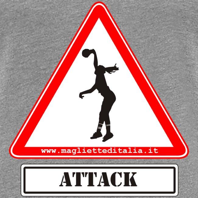 attack female