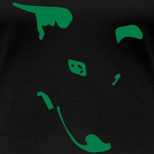 Whippet Virgule - T-shirt Premium Femme