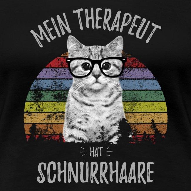 Vorschau: Therapeut Katze - Frauen Premium T-Shirt