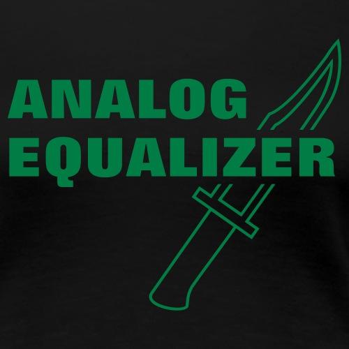 Analog Equalizer - Women's Premium T-Shirt