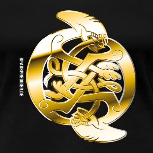 Celtic Xenomorph - Frauen Premium T-Shirt