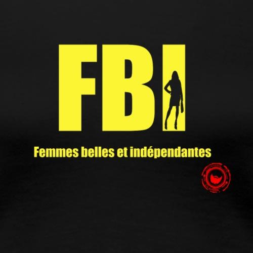 FBI - Women's Premium T-Shirt