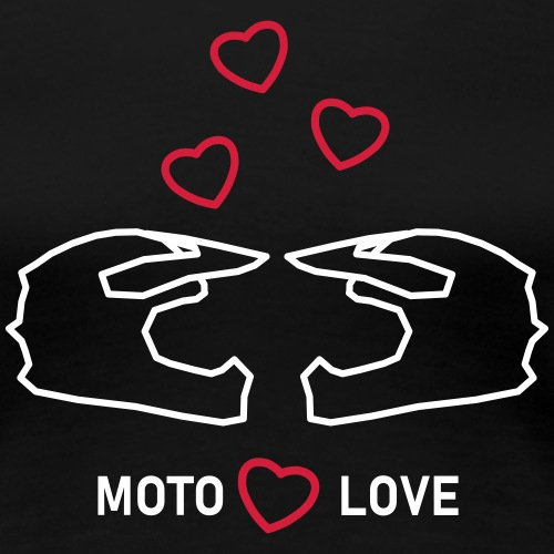 moto love - Women's Premium T-Shirt