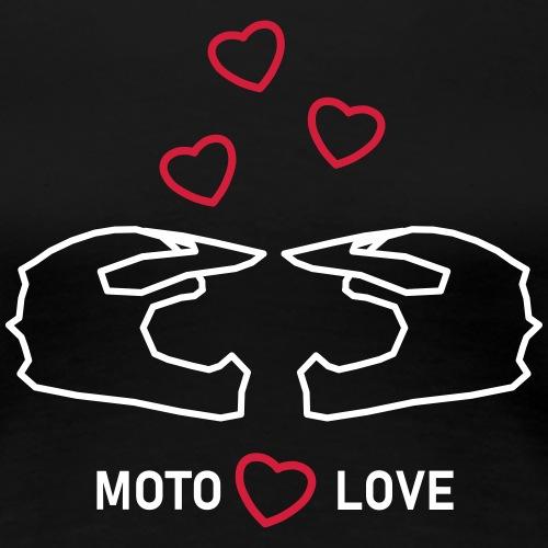 moto miłość - Koszulka damska Premium