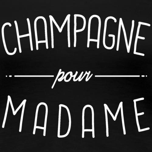 Champagne - T-shirt Premium Femme