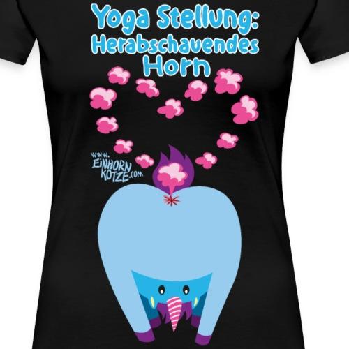 yogastellungeinhornspr - Frauen Premium T-Shirt