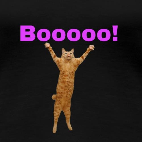 Cat scared - Women's Premium T-Shirt