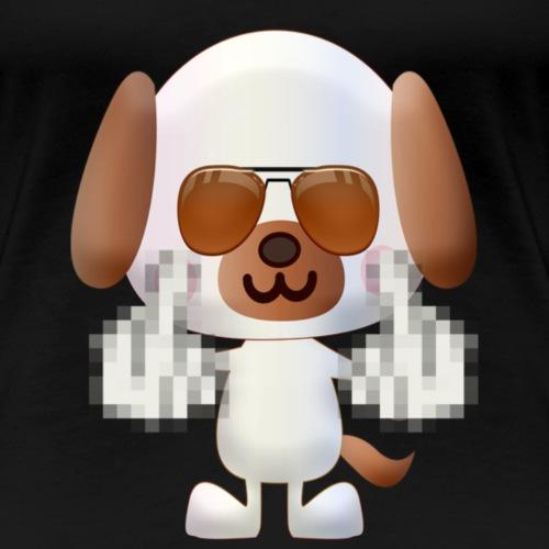 chien F*** - T-shirt Premium Femme