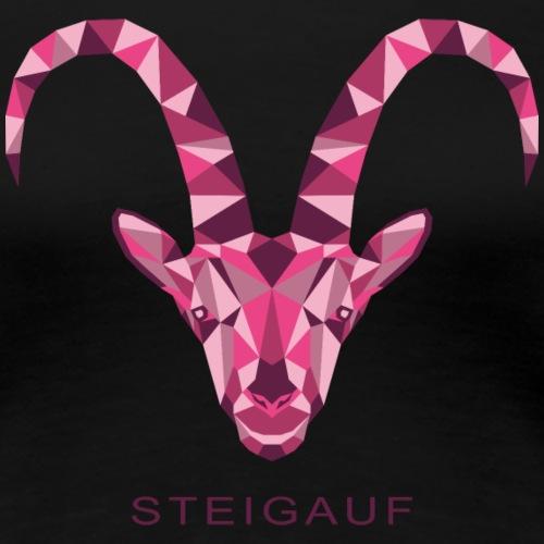 Steigauf Steinbock C2 - Frauen Premium T-Shirt