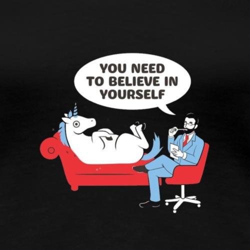 Unicorn beim psychologe